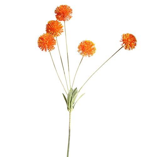 Lazzboy Unechte Blumen,Künstliche Deko Blumen Gefälschte Blumen Blumenstrauß Seide Wirkliches Berührungsgefühlen, Braut Hochzeitsblumenstrauß für Haus Garten Party Blumenschmuck #18(B)