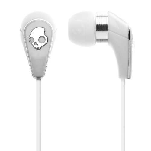 Skullcandy Headphone 50/50 incl. Shufle Control, wit/chroom, S2FFCM-075