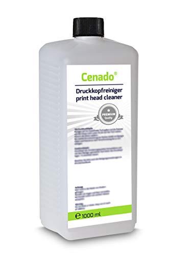 Druckkopfreiniger Düsenreiniger für Tintenstrahldrucker, 1 Liter