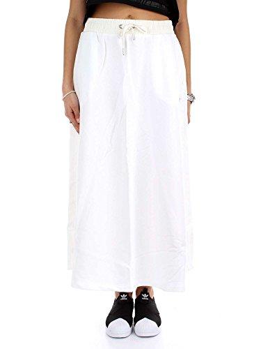 adidas Long Skirt Falda, Mujer, Blanco, 36
