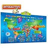 Mapa del mundo interactivo para niños que habla ...