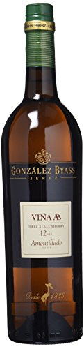 Viña AB Amontillado Vino D.O. Jerez - 750 ml