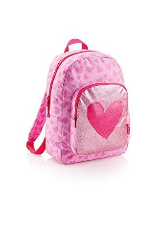 Agatha Ruiz De La Prada Miquelrius Lurex Kinder-Rucksack 44 centimeters 20 Pink (Rosa)