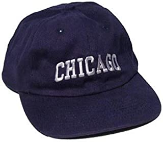 Chicago Hat, Chicago Souvenir Bold Chicago Navy Hat