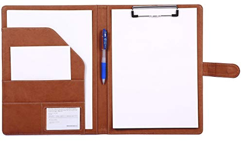 Clipboard Folder Padfolio Clipboard, Mymazn Writing Portfolio Faux...