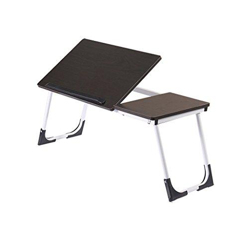 Gooyang Opvouwbaar laptopbureau, studenten gebruiken een kleine tafel op het bed, slaapzaal lui bed, verstelbare bedtafel, draagbare laptop stand-pot, opvouwbare sofa ontbijtdienblad