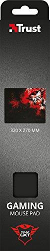 Trust GXT 754-P Gaming Mauspad (320 x270 x 3 mm) schwarz