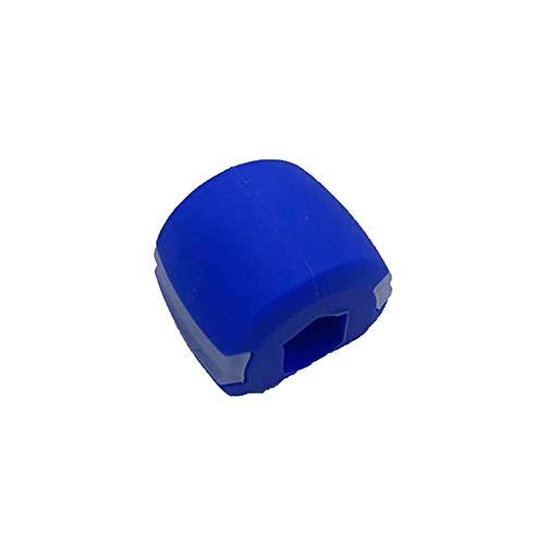 XIGU Backentraining Ball Jawline Übung Doppelt Kinn Druckminderer Mandibular Training Geräte Muskelformung Kugel, Junge Menschen stärken Muskeln Blue 30lbs