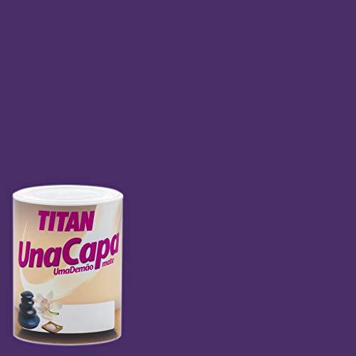 Industrias Titan. S.L 69630434 - Pintura plast mate 750 ml morada int....