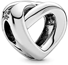 Pandora Jewelry Knotted Heart Sterling Silver Charm