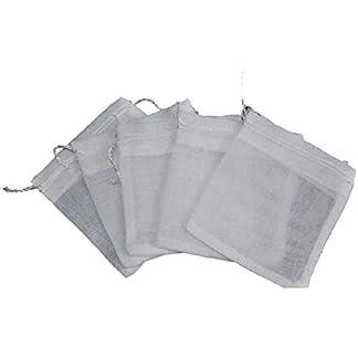ABO-White-Musselin-Taschen-mit-Kordelzug-fr-Gewrze-Kruter-Tee-Glhwein-3x-35-5-Stck