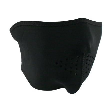 Zanheadgear WNFMO114H Black Oversized Face Masks