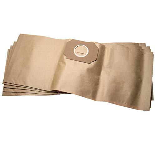 vhbw 5 Staubsaugerbeutel Ersatz für Thomas 200, 787 100, 787100 für Staubsauger, Papier 61,3cm x 24.1cm