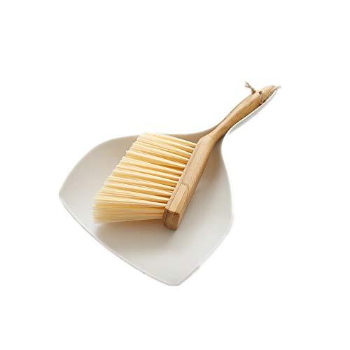N / A Mini Conjunto de Cepillo y recogedor, Herramienta de Limpieza Multifuncional con Cepillo de Escoba Manual, plástico, para Limpiar la Mesa, encimera, Teclado, Mascotas, Cabello, café