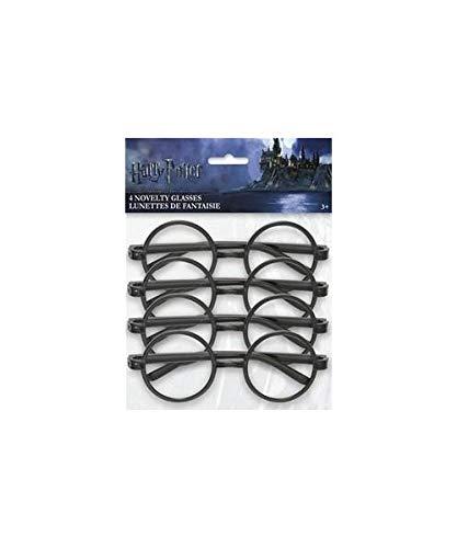 2736; 4 gafas Harry Potter; ideal para fiestas y cumpleaños.