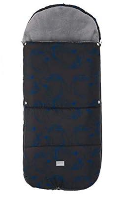 Nuvita 9585 Junior Smart – Saco Carrito Bebe Universal 100cm x 45cm – Térmico, Impermeable a Prueba de Viento para Mantener los Bebes Cálidos hasta -10° – Desde 6-36 Meses