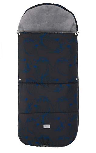 Nuvita 9585 Junior Smart – Universeller Fußsack für Buggys – 100 x 45 cm - Der Fußsack ist wärmeisoliert, wasserdicht & Winddicht. Für 6-36 Monate geeignet, hält bei Temperaturen bis -10°C warm.