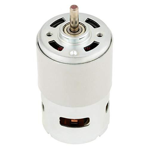Motor cepillado en miniatura 775, resistencia a la abrasión 12V DC Motor de alta velocidad sólido 12000RPM Industrial para herramienta eléctrica