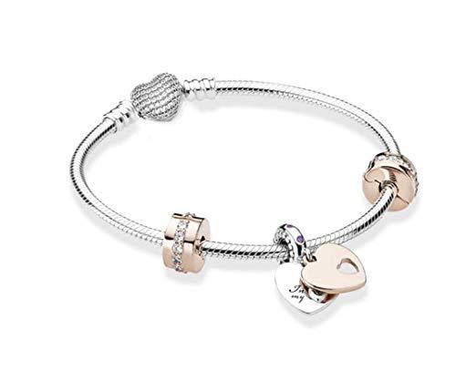 belinia prestige - Abalorio de pulsera, pulsera para mujer, compatible con pulsera Pandora.