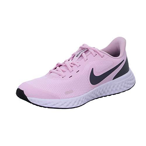 Nike Unisex-Kinder Revolution 5 Leichtathletikschuhe, Pink (Pink Foam/Dark Grey 601), 21 EU