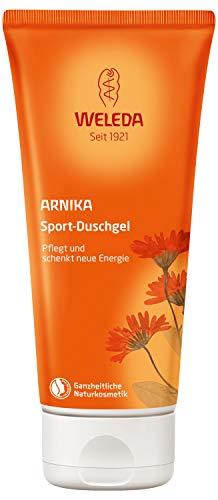 WELEDA Arnika Sport-Duschgel, belebende und aktivierende Naturkosmetik Pflegedusche für neue Energie und Entspannung der Haut, erfrischende Reinigung und Pflege für Körper und Gesicht (1 x 200 ml)