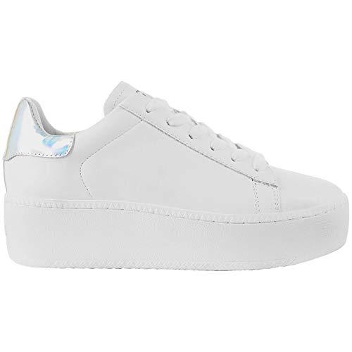 Ash Cult Donna Bianco/Argento Platform Sneaker-UK 8 / EU 41