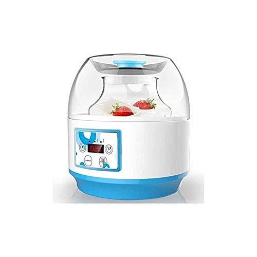 UNU_YAN Moderne Einfachheit Home Automatische Joghurtmaschine einfach zu bedienen, bequem und praktisch, multifunktions.2l (Farbe: blau)