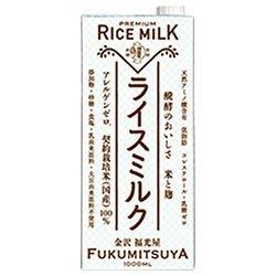 福光屋 プレミアム ライスミルク 1000ml紙パック×6本入×(2ケース)