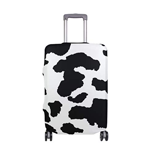 Suitcase Cover Animal Cow Print Lightweight Luggage Cover Protector Fits 18-32 inch
