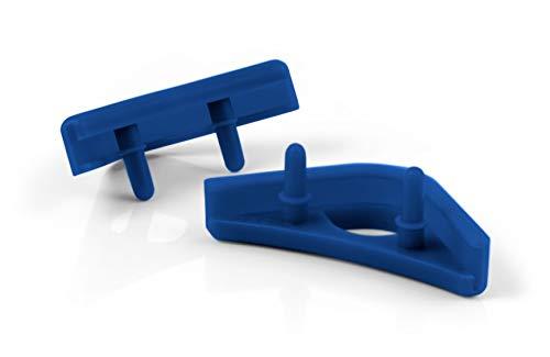 Noctua NA-SAVP1 chromax.blue, Paneles Anti-Vibración para Ventiladores Noctua de 140 y 120 mm (16 unidades, Azul)