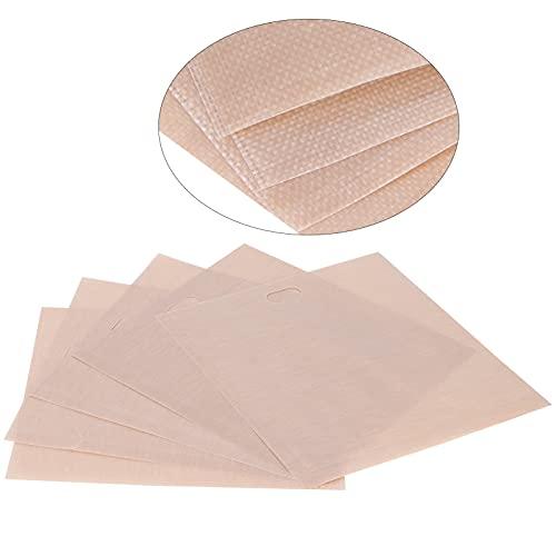 Jopwkuin Bolsas, usadas repetidamente Bolsa de Barbacoa 5PCS para microondas para Horno o Parrilla para tostadora(17 * 19CM 5 Paquetes)