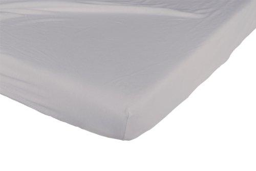 Candide Drap Housse Jersey Coton 70 x 140 cm Gris