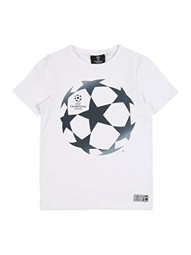NAME IT Jungen NKMUEFA Mateo SS TOP Box Park T-Shirt, Bright White, 146-152