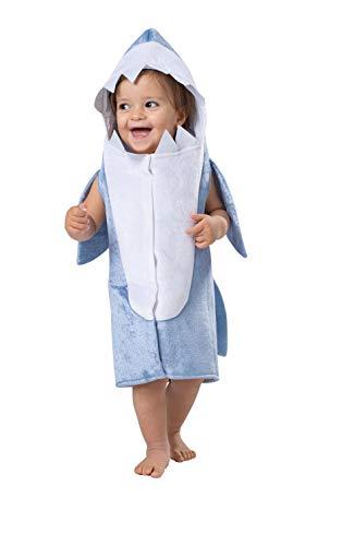 Dress Up America Disfraz de Sky Azul Tiburón para niño