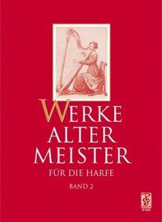 KLEINE WERKE ALTER MEISTER 2 - arrangiert für Harfe [Noten / Sheetmusic] Komponist: HAAG GUDRUN + ZINGEL HANS J