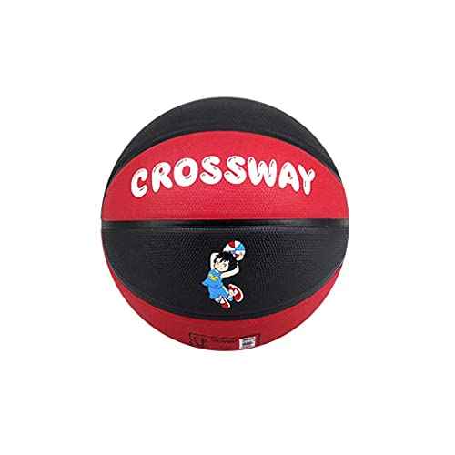YCX Baloncesto para Interiores y Exteriores, Baloncesto de Goma para niños, tamaño 4-5, Baloncesto de Dibujos Animados, Adecuado para niños y Adolescentes, será un Gran Regalo
