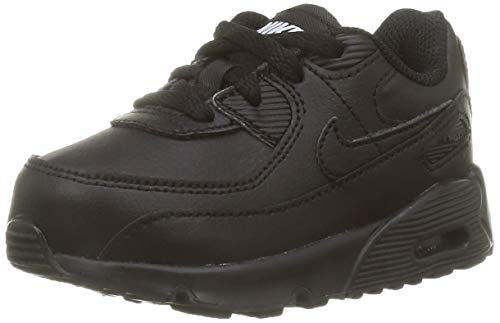 Nike Air Max 90 LTR (TD), Scarpe da Corsa, Black/Black-Black-White, 26 EU