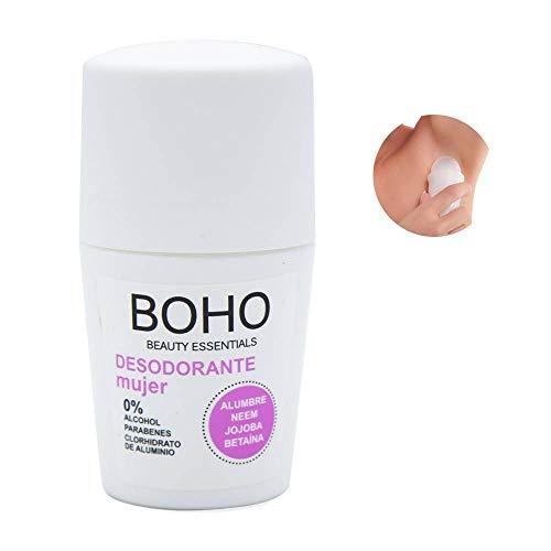 BOHO Desodorante Mujer 50ml, 2 Unidades
