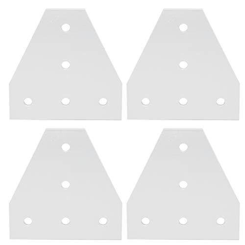 Placa de unión, placa de unión de aleación de aluminio, placa de reparación en forma de T, para impresora 3D para la industria de la construcción(3030T type)
