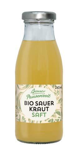 Bauer Pausenzeit Bio-Sauerkrautsaft (12 x 245 ml) inkl. Versand