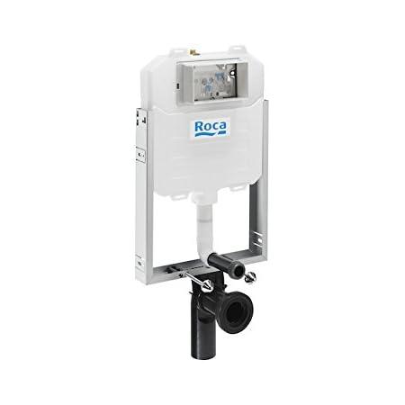 Roca A890080120 Bastidor con Cisterna Compacta de Doble Descarga para Inodoro Suspendido