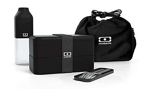 monbento - Lunch box set schwarz Onyx -...