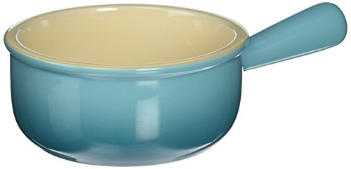 Le Creuset PG1175-162 Stoneware French Onion Soup Bowl, 16-Ounce, Flame