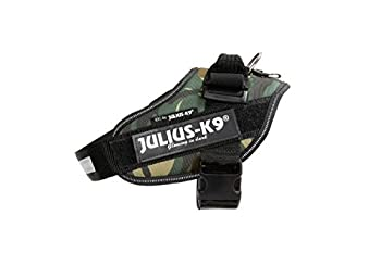 Julius-K9, 16IDC-C-0, Harnais IDC Power, Taille: 0, Camouflage Armée