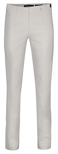 Robell Stretchhosen Slim Fit ICH Will Marie - (42, Silber)