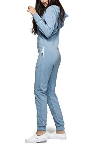 OnePiece Unisex Original Jumpsuit, Blau (Dusty), 42 (Herstellergröße: XL) - 5