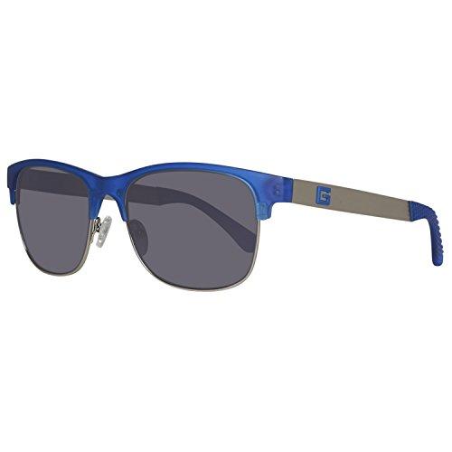 Guess Sun GU6859 91B-56-17-145 Gafas de sol, Azul (Blue), 56 Unisex Adulto