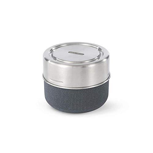 Black+Blum - Fiambrera antifugas para comida (pizarra, 600 ml)