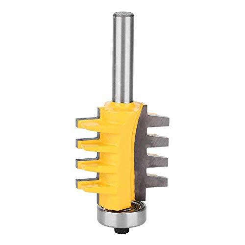 Fräser Finger Joint Fräser Graviermaschine Holzbearbeitung Fräser Industrie, Bohrmaschine Teile Zubehör,Gelb