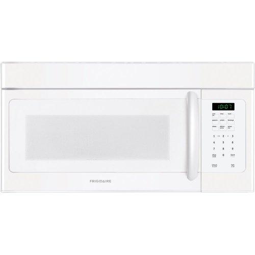 Frigidaire FFMV162LW 1.6 Cu. Ft. White Over-the-Range Microwave